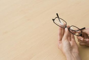 Technicians grind lenses to match your prescription, then fit them to the frames.