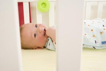 Decorate the infant room in a way that keeps the little ones smiling.