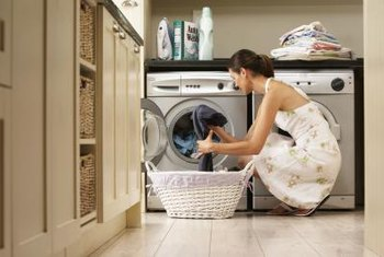 Use only high-efficiency laundry detergent in a front-load washing machine.