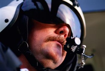 A first-class medical certificate and initial drug screen are required to become a test pilot.
