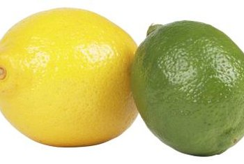 Decorate with lemons and limes for a happy, summery feel.