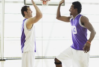 Basketball can equal the calorie burn of slow running.