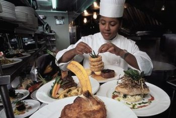 A career in culinary arts can lead to work as a chef or head cook.