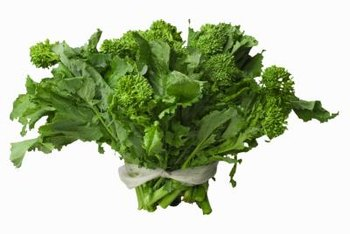 Broccolini closely resembles broccoli rabe, a related vegetable.