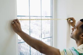 Measure the window's width and height to ensure the replacement vanes will fit.