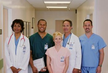 Respiratory therapists and LPNs work as part of a health care team.