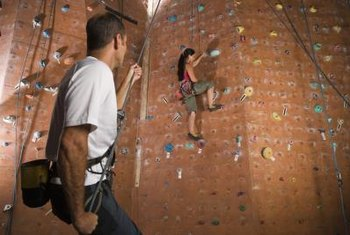 Indoor climbing facilities make it easier to enjoy the sport.