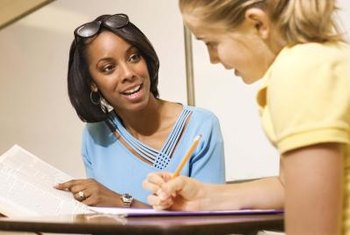Guidance counselors help students reach their educational goals.