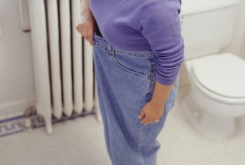 A fast weight loss may require frequent visits to the doctor.