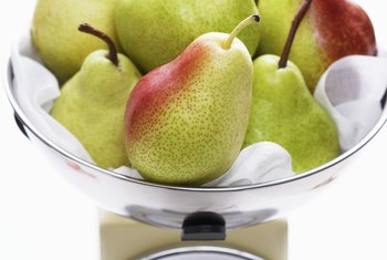 Pears are a high-fiber, low-oxalate food.