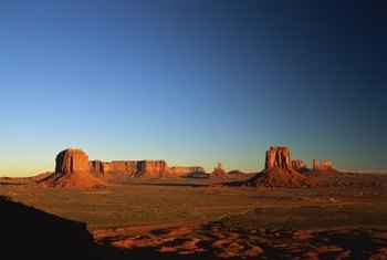 Lands within Indian reservations, such as Arizona's Monument Valley Navajo Tribal Park, receive special tax dispensations.
