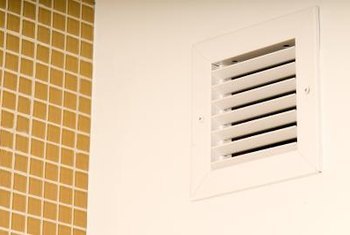 Check behind vents for obstructions.