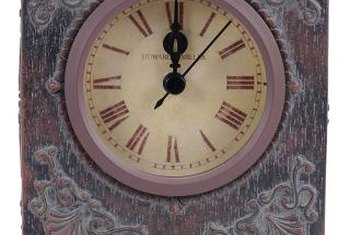 Howard Miller Clocks are easy to identify.