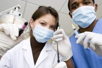 Dental assistants help to provide patient care.