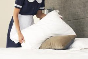 Ask questions about specific housekeeping duties to gauge a candidate's familiarity with the job.