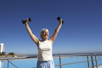 Women over 60 can increase the strength of their muscles by 20 to 40 percent.