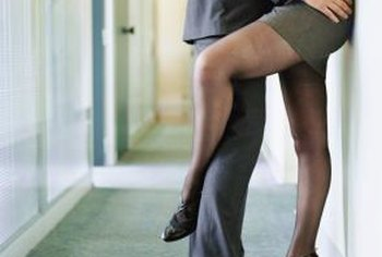 You may want to discourage open acts of affection in the workplace.