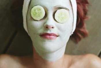 Estheticians offer spa services such as facials.