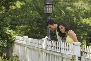 The traditional picket fence is nice, but it's not the only fencing option.