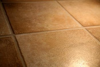 Guidelines can help you lay tile straight.