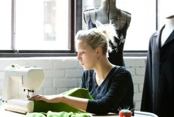 Seamstresses typically learn on the job or in an apprenticeship.