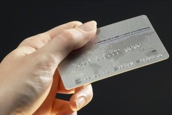 A business credit card is a convenient way to cover some startup costs.