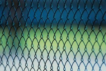 A fence can keep your yard secure or your pets at home.