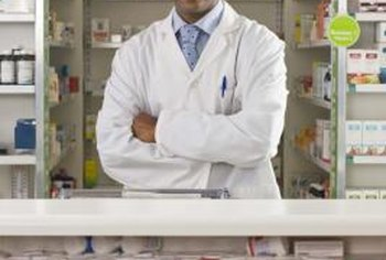 Most pharmacists work for retailers or hospitals.