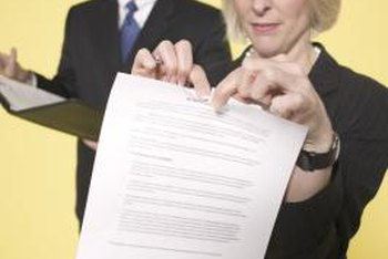 A contract is an agreement that is legally enforceable.