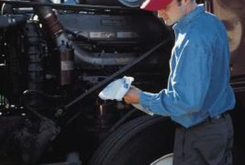 Truck mechanics perform arduous and complicated tasks on expensive vehicles.