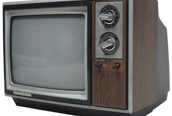 Old CRT televisions can survive storage in freezing conditions.