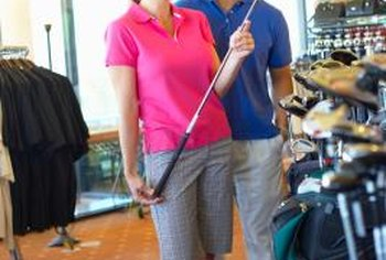 For a captive audience, locate your golf pro shop in or adjacent to an existing golf course.