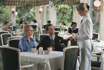 Waitstaff training is a part of your service marketing plan.
