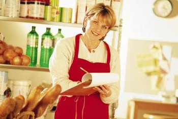 Overseeing food service is just one duty of the supervisor.