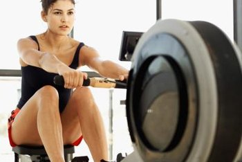 Exercise triggers chemical reactions that burn calories.