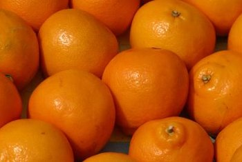 Oranges are sensitive to freezing temperatures.
