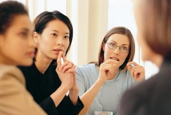 Designate someone to monitor the time and take notes during the meeting.