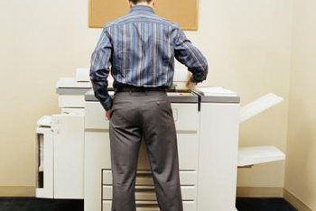 Relax while loading paper into your office copier.