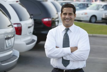 A commercial salesman can assist with your business vehicle purchases.