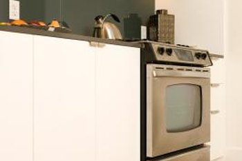 Change your white cabinets to a color or a metal finish in just a few minutes per cabinet.