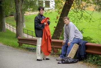 Social workers develop expertise in dealing with specific social issues, such as homelessness.