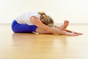Paschimottanasana is an effective stretch for the thoracolumbar fascia.