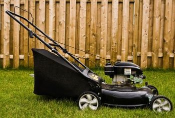 A lawnmower's snug hiding areas are attractive to mice building nests.