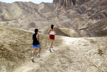 Walking uphill offers a natural incline variation.
