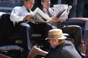 You can attract professionals to your shoe shine business in a commercial area.