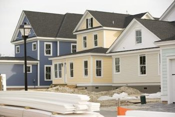 Modern siding is available in an array of textures, colors and materials.