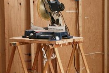 A compound miter saw is a baseboard installer's most important tool.