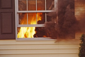 House fires can cause immense damage, for which some landlords may sue.