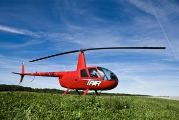 Though not required, many helicopter pilots start out flying airplanes.