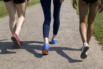 A brisk walk is a great way for beginners to burn some fat.